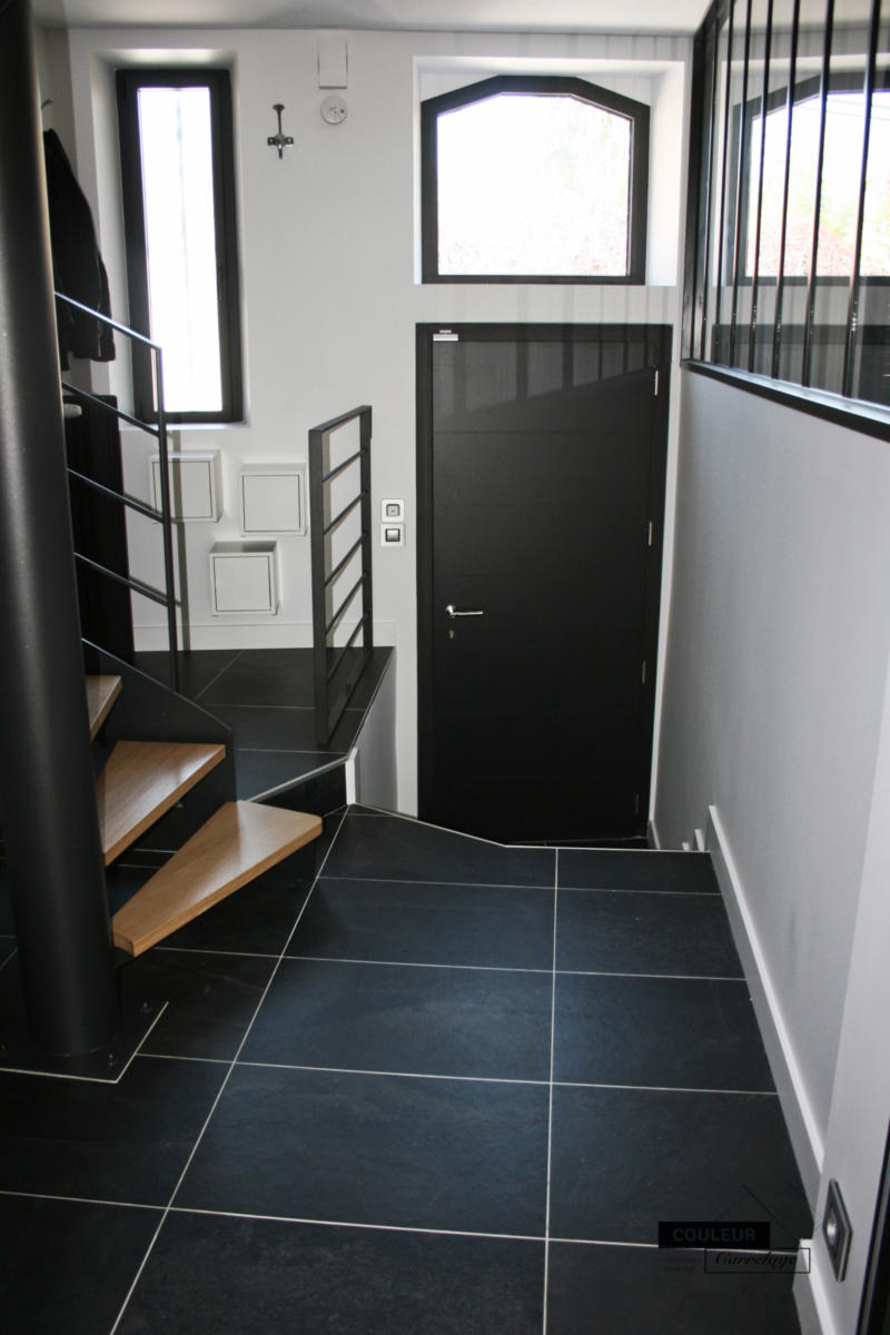 Carrelage Entrée Escalier